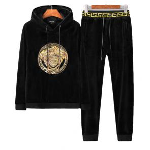 sport survetement versace pas cher double sided velvet